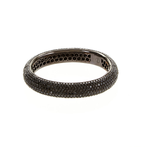 Black Diamond Grace Bangle
