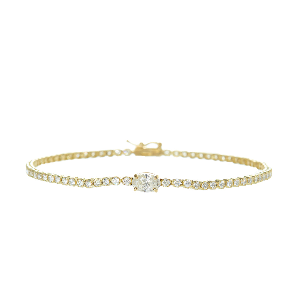 Seychelle Diamond Tennis Bracelet