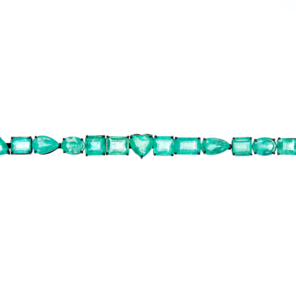 Seaview Emerald Bracelet