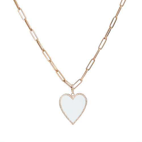 Pippa Heart Necklace
