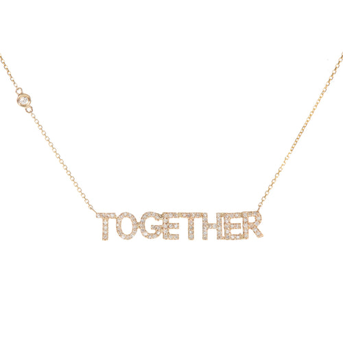 Together Letter Necklace