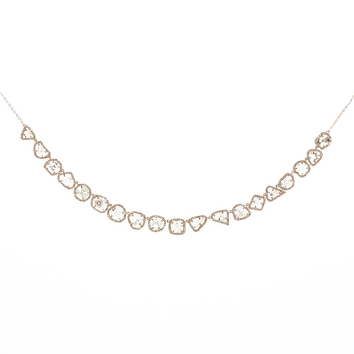 Brooke Slice Diamond Necklace