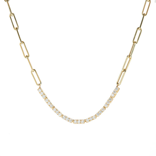 Leo Diamond Necklace
