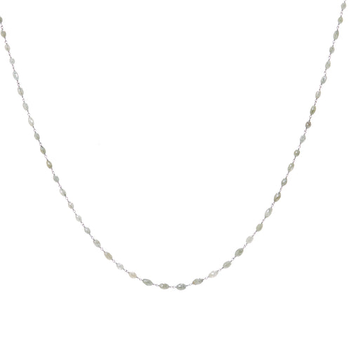 Diamond Bead Necklace