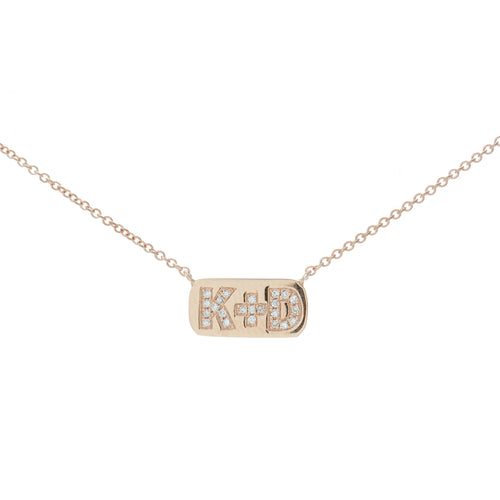 Corinne Initial Necklace
