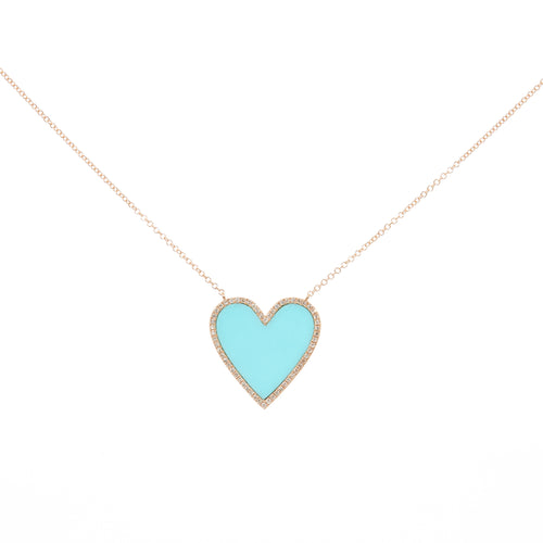 London Heart Necklace