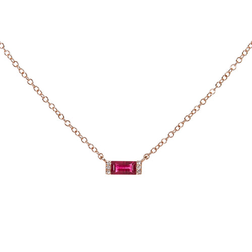 Syd Ruby Necklace