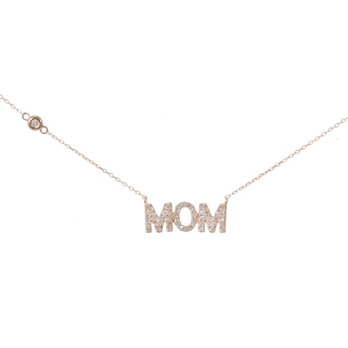 Mom Letter Necklace