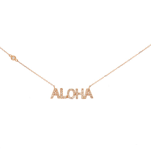 Diamond ALOHA Necklace