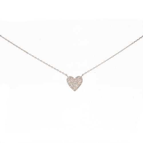 Pave Sweetheart Necklace