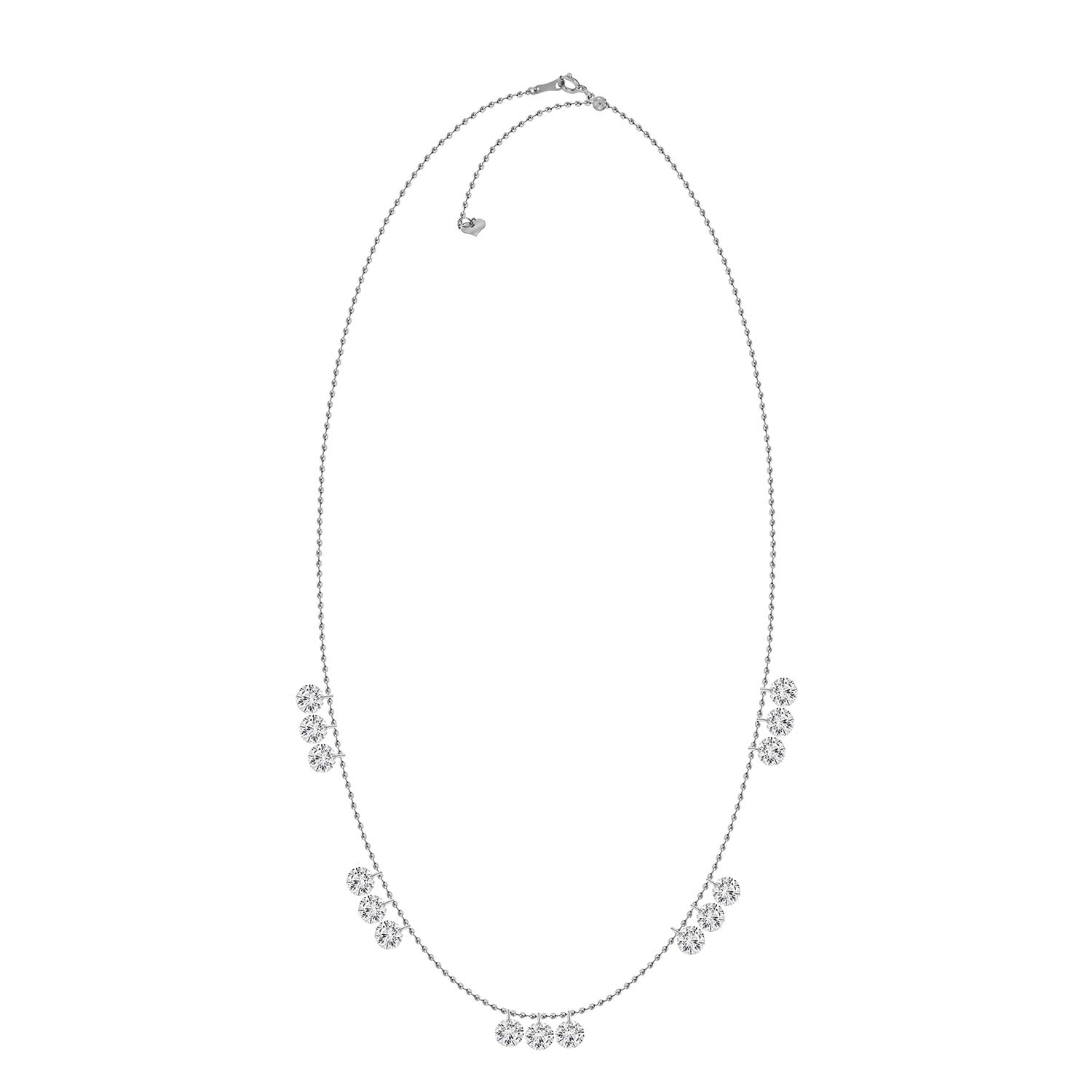 Lola Diamond Drop Necklace