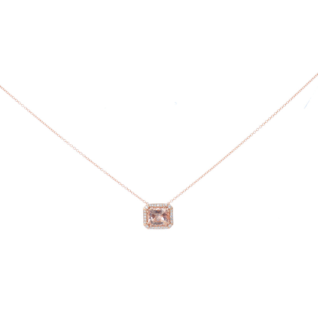 with rose morganite pink gold necklace product heart laurie pendant