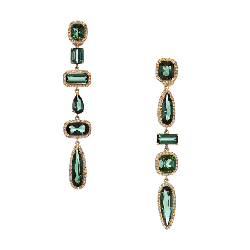 Green Envy Earrings