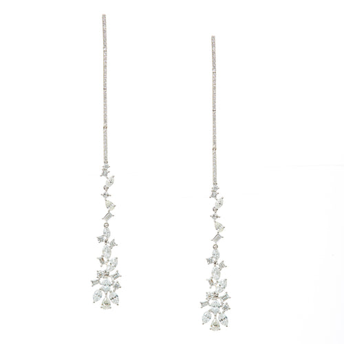 Waterfall Diamond Drop Earrings
