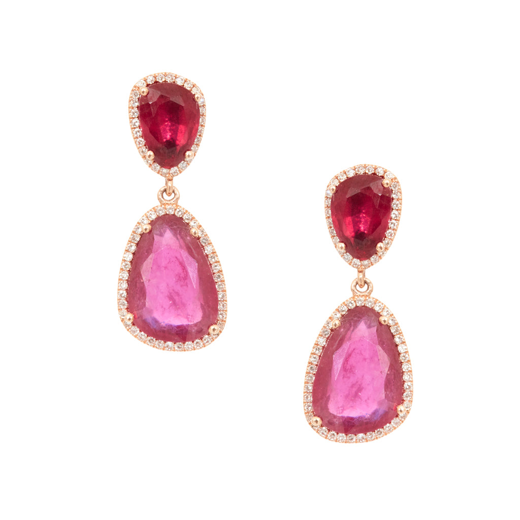Ruby Rose Earrings