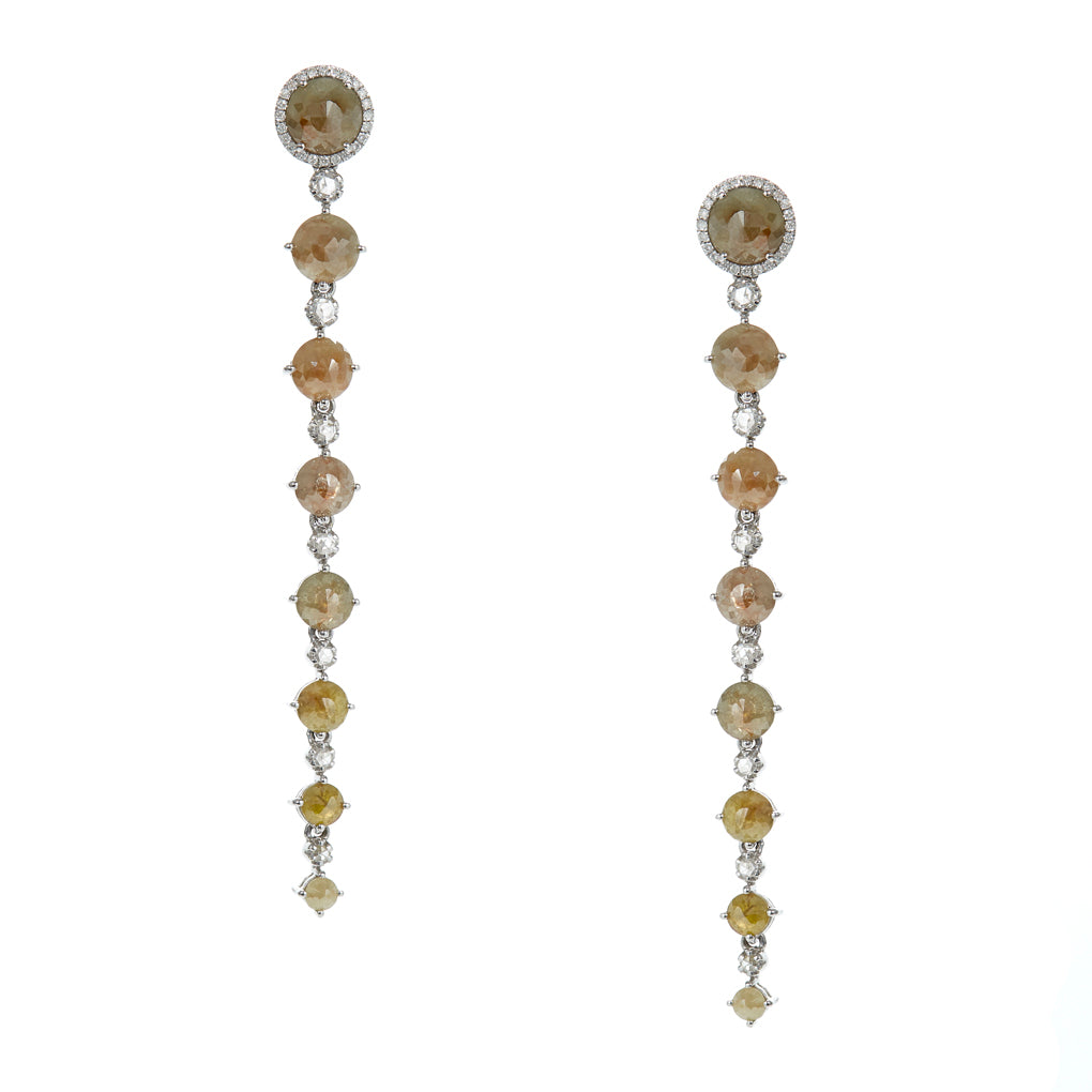 Ombre Diamond Drop Earrings