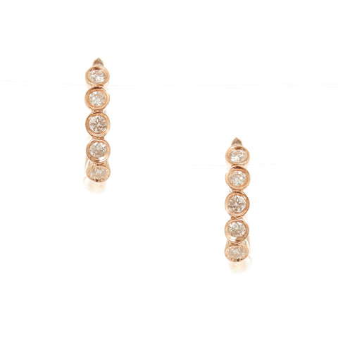 Diamond Stick Earrings