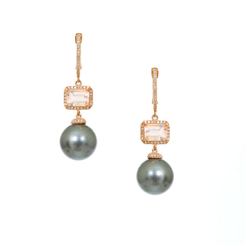 Bubble Pearl Earrings