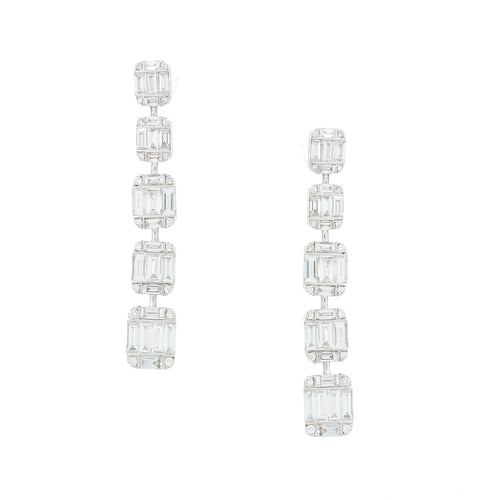 Helena Diamond Drop Earrings