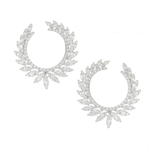 Marquis Diamond Earrings