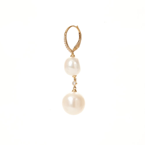 Stassi Pearl Drop Earrings