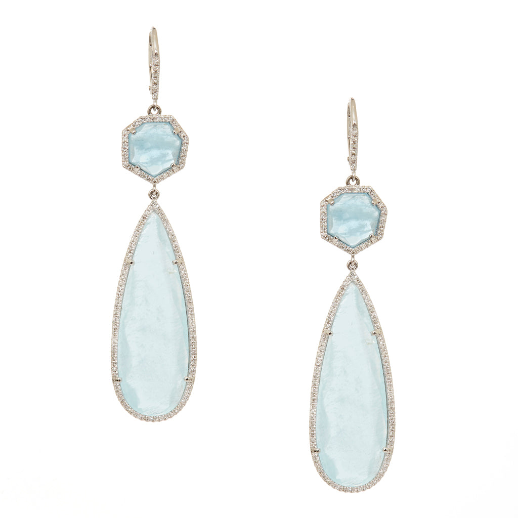 Cleo Ice Drop Earrings