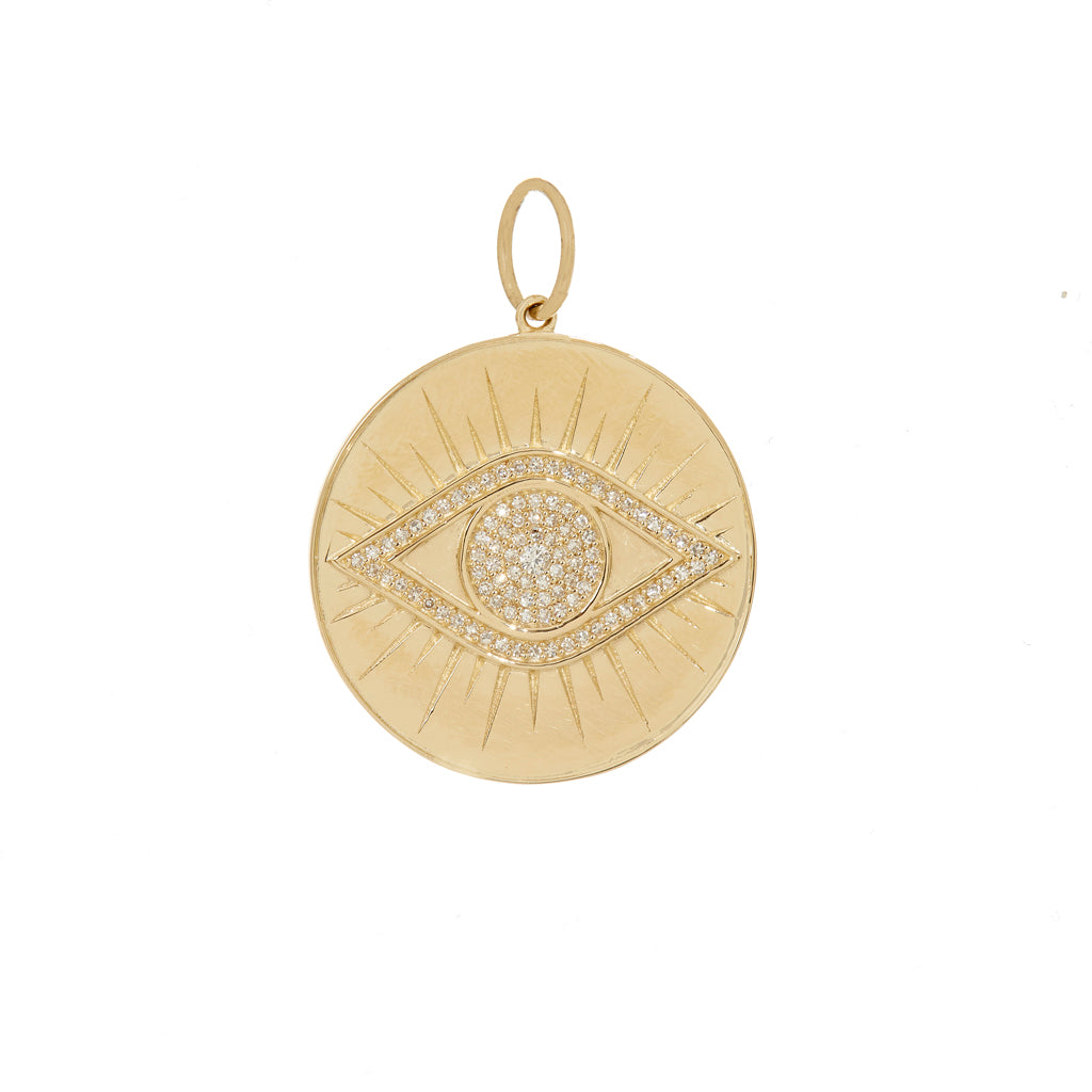 Eye Disc Pendant