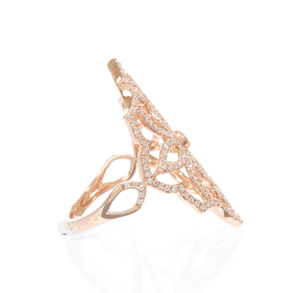Lace Point Ring