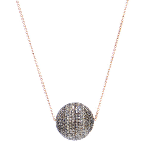 Talula Diamond Ball Necklace