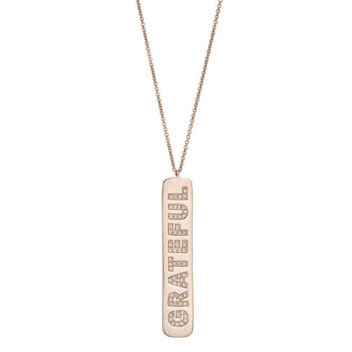 Grateful ID Necklace
