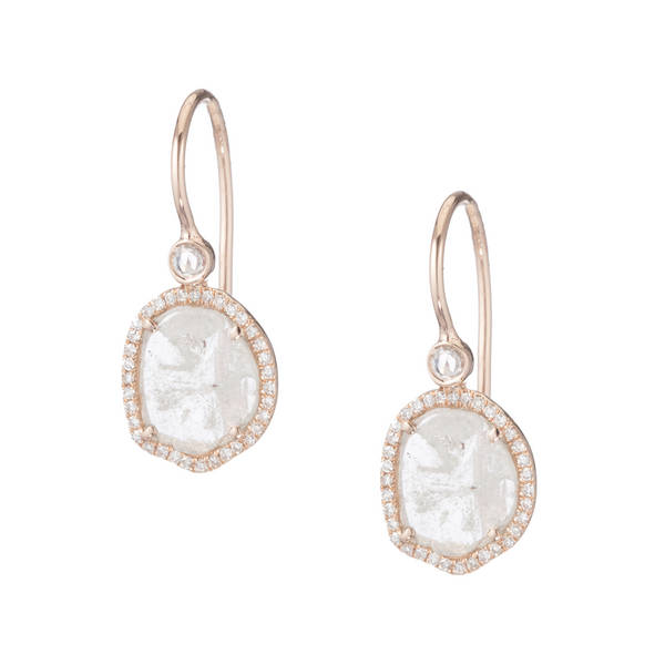 Zoe Diamond Drop Earrings