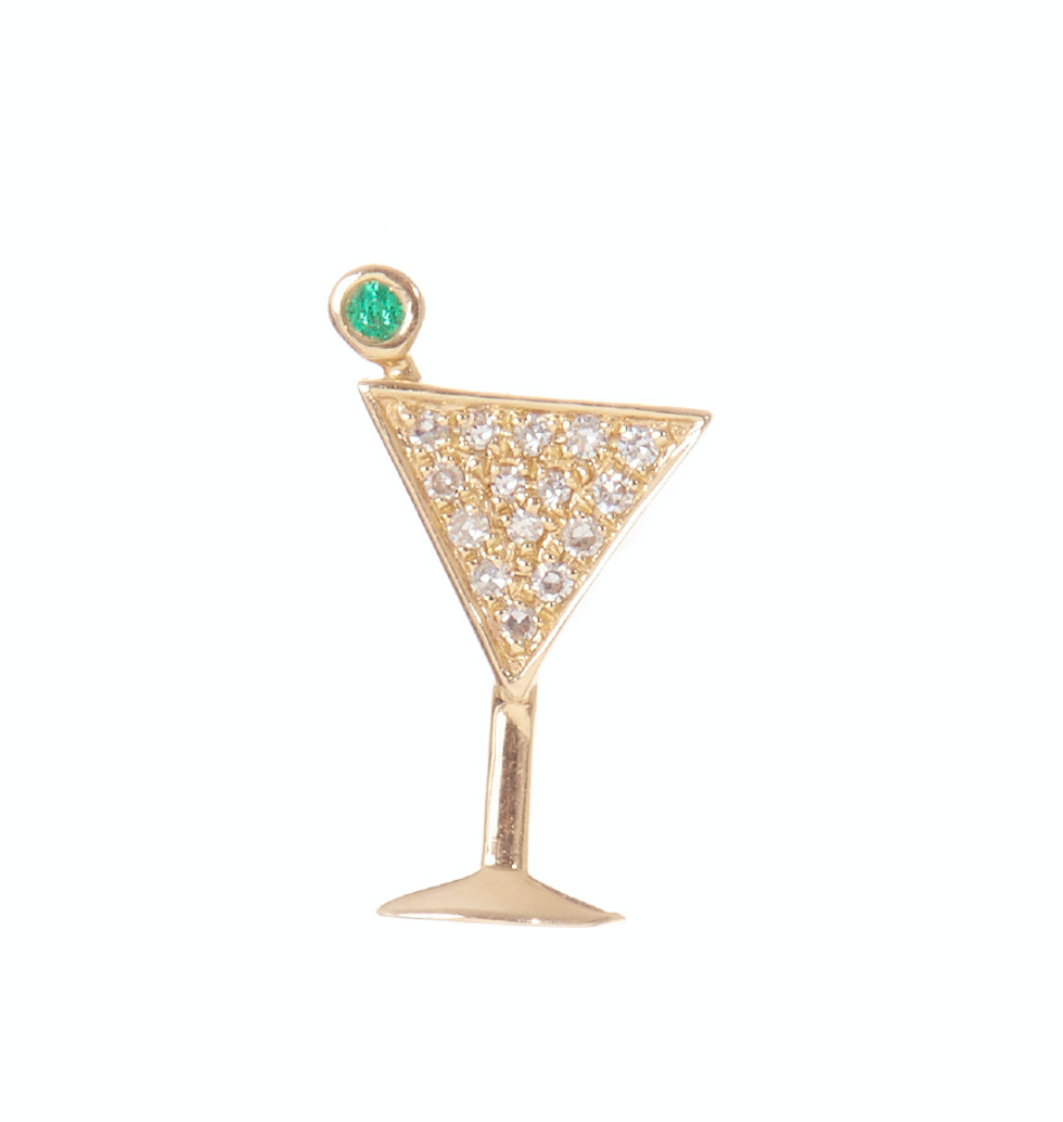 Teeny Martini Studs