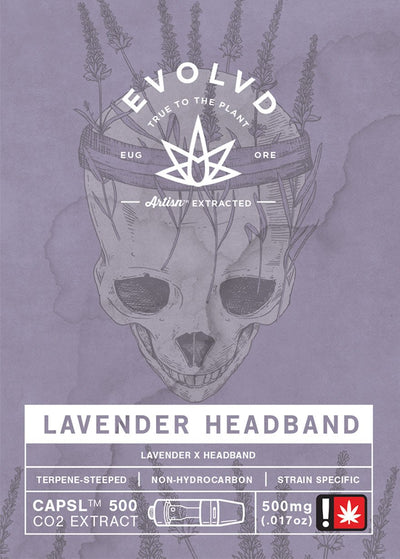 Lavender Headband - Cannabis Extract