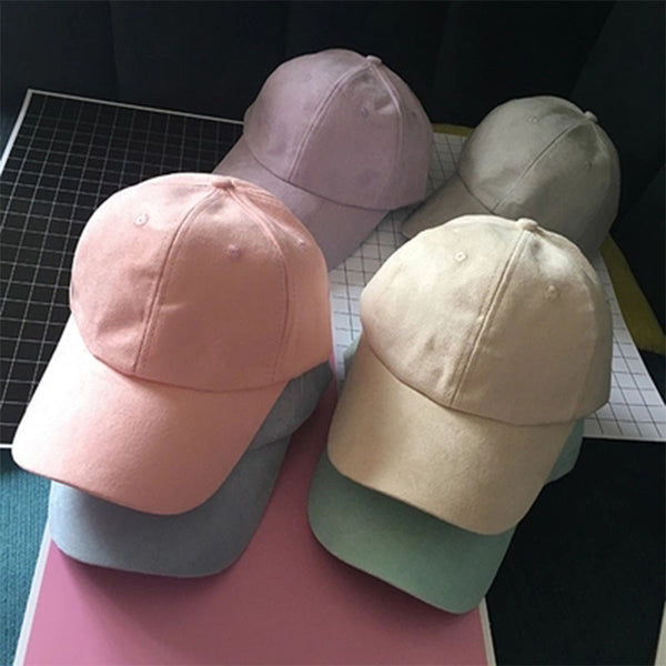Solid Color Pastel-ish Baseball Cap / Dad Hat (Unisex)