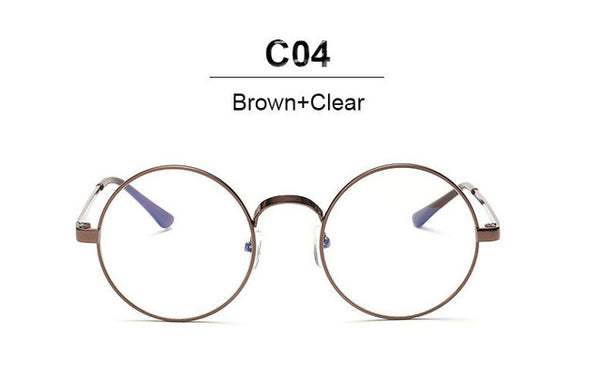 Metal Frame Rim Glasses (Unisex)