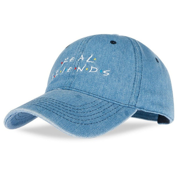Real Friend Embroidery Baseball Cap