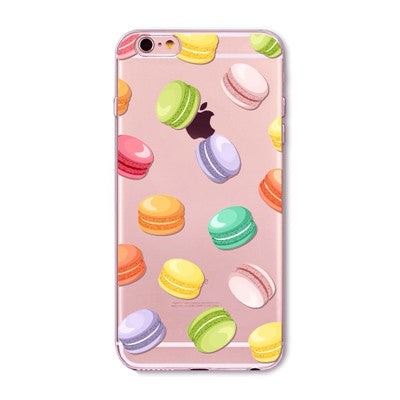 Pink Donuts and Desserts iPhone Cases