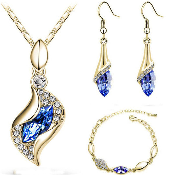 Elegant Water Drop Jewelry Sets