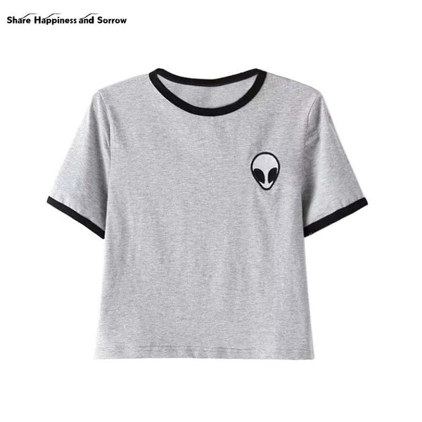 Crop Top Alien T (Women's)