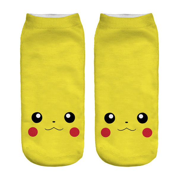 Pikachu Low-Cut Socks