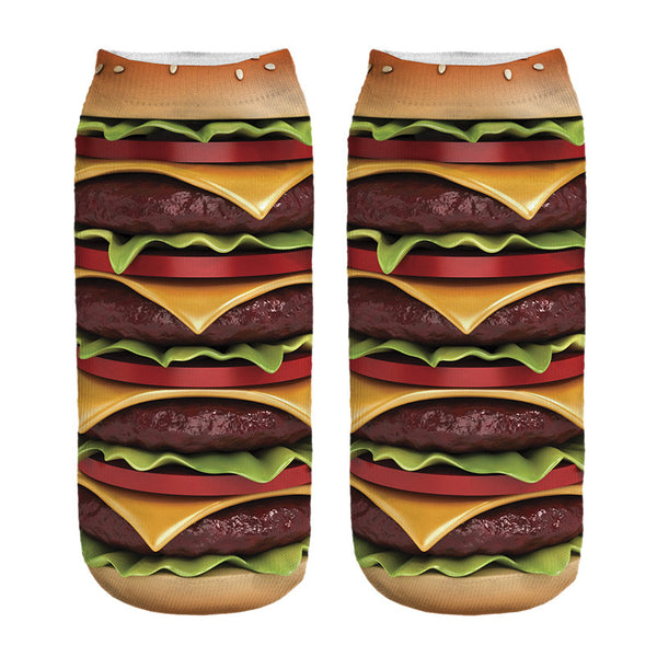Burger Socks (Men's/Unisex)