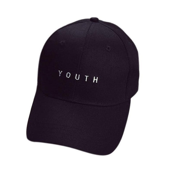Embroidery YOUTH Letter Summer Hat