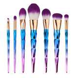 Golden Makeup Brush Set Eyeshadow Powder