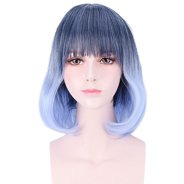 Ombre Synthetic Anime Cosplay Wig