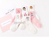 Cartoon Sweet Cotton Women Socks