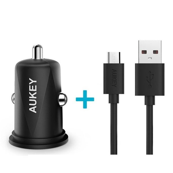Mini Dual USB Fast Car Charger