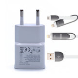 5V 2A 3 Ports USB Wall Travel Mobile Phone Charger
