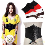 Leather Waistband Belt Corset