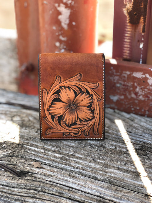 Bi-Fold Wallet with Money Clip