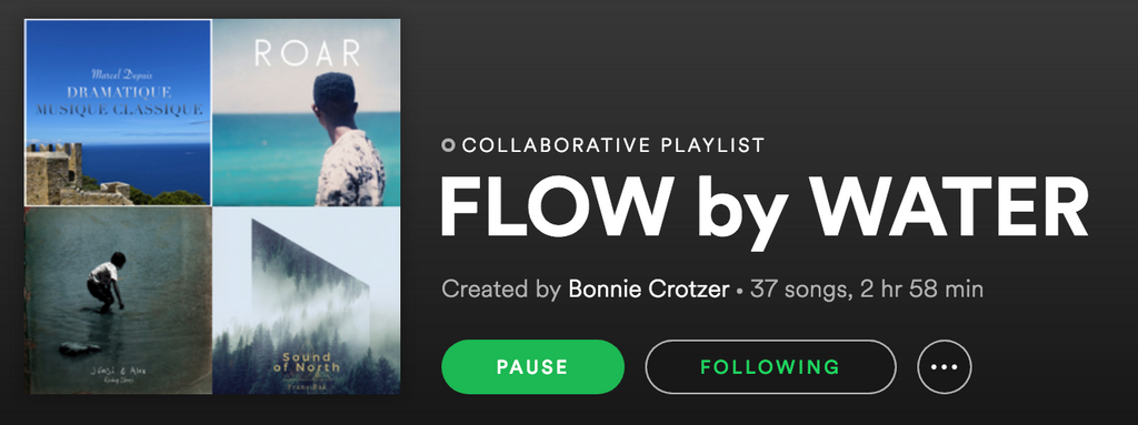 We made you a WATER playlist